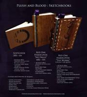 Plush and Blood : Sketchbooks price sheet by TiredOrangeCat