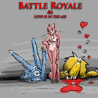 Battle Royale 6 by TiredOrangeCat