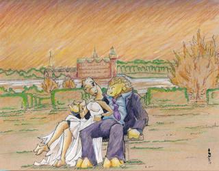 Kam Wedding by TiredOrangeCat