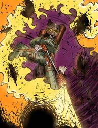 Ralliron Flamethrower by TiredOrangeCat