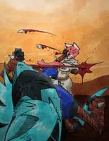 Khayos Rave Commission Luka by TiredOrangeCat