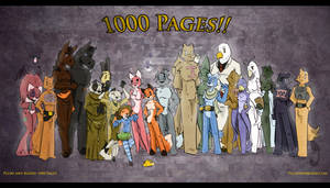 Plush and Blood: 1000 Pages