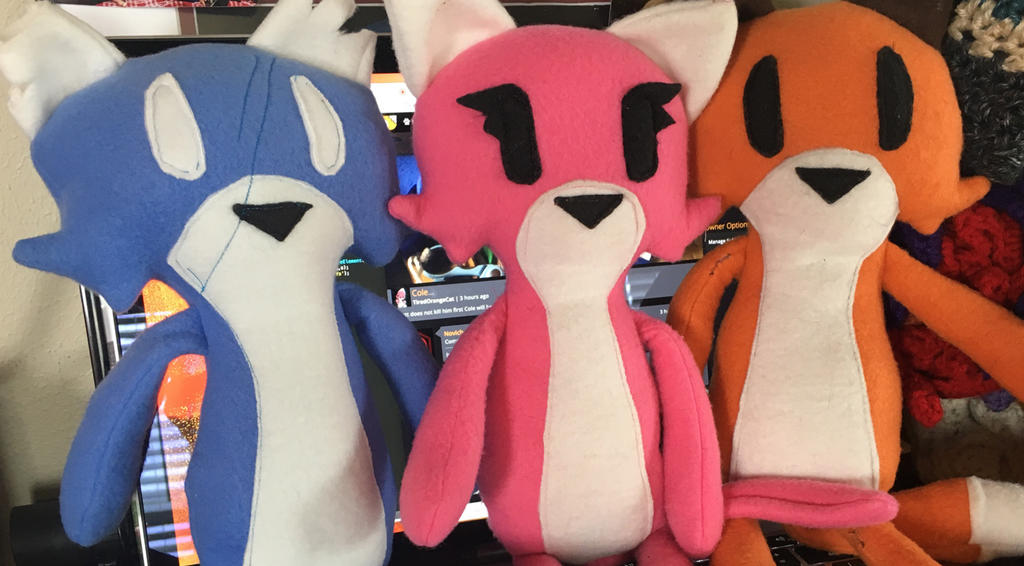 Plush characters have been added to the store!!