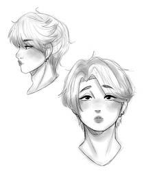Jimin sketches