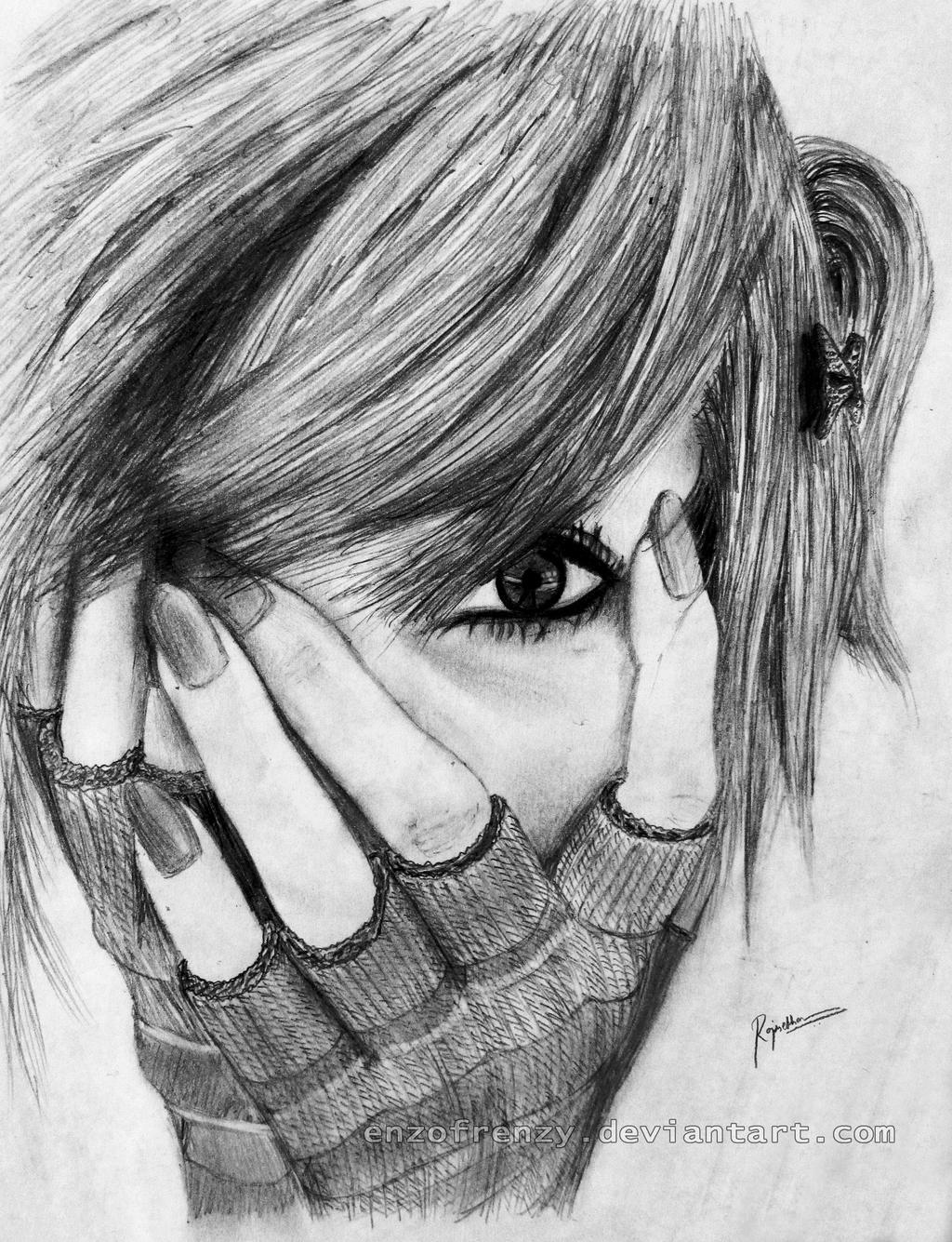 Drawings Of People Crying Best Drawings Of People People Sketches