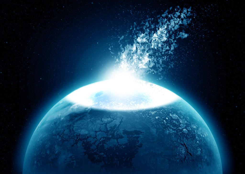asteroid impact explosion - photo #13