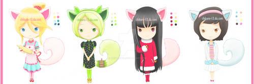[CLOSED] Chibi Adopts by Chikuro-13
