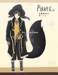 [OPEN] Pirate Kemonomimi Adoptable by Chikuro-13