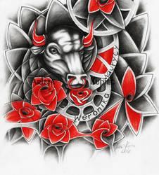 Roses, racks and bull