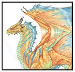 Zinc Bronze Dragon