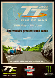 Isle of man TT 2013 by Mareoz