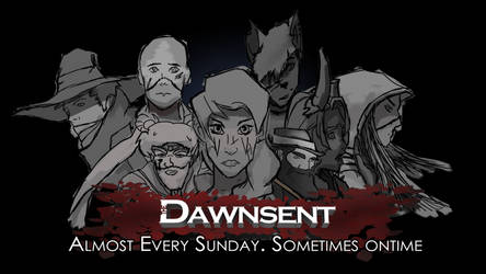 The Dawnsent Team Photo by MustBeVin