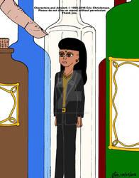 Druid Apprentice Under Glass I