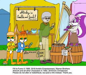 Fifi Friday at the Renaissance Faire