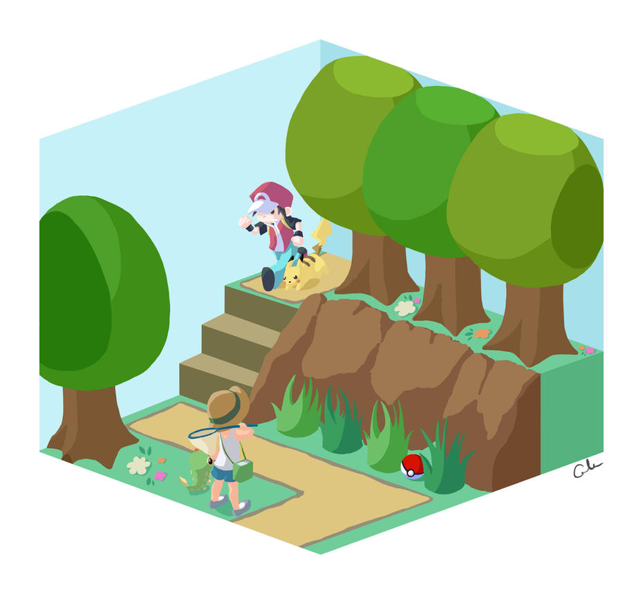 Pokemon Cubed by foreverfornever740