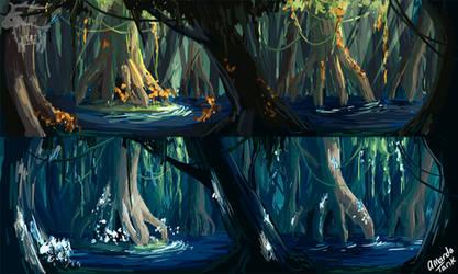 Secret Grove Concept Art