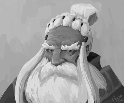Village Elder Sketch