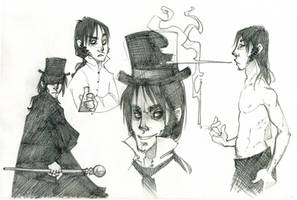 Edward Hyde sketches by SlackWater