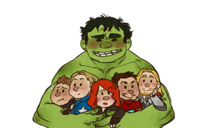 WE HAVE A HULK by AgentDax