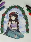 Comm | Flower Crown by sugachi