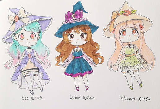 CLOSED : Batch 4 : Witches (points/paypal)