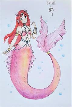 CLOSED THANKS :Adopt 10:Lotus mermaid