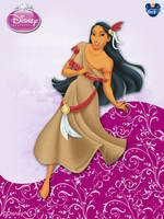 DisneyPrincess -PocahontasByGF by GFantasy92