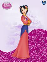 DisneyPrincess -Mulan ByGF by GFantasy92