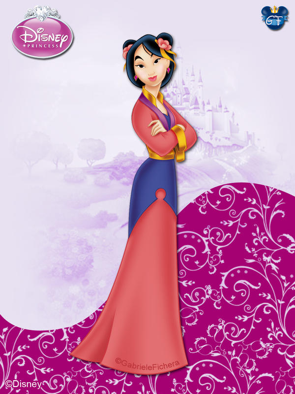 Disneyprincess mulan bygf by gfantasy92 on deviantart - Princesse mulan ...