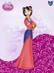 DisneyPrincess -Mulan ByGF