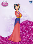 DisneyPrincess -Mulan ByGF