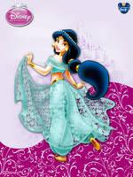 DisneyPrincess - Jasmine3 ByGF by GFantasy92