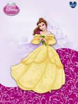 DisneyPrincess - Belle3 ByGF