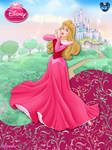 OriginalDisneyPrincess- Aurora In Pink ByGF