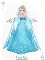 Queen Elsa - Snow Queen Version by GF by GFantasy92