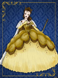Queen Belle - Disney Queen designer collection by GFantasy92