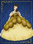 Queen Belle - Disney Queen designer collection
