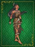 Queen Pocahontas- Disney Queen designer collection