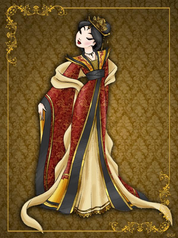 Queen Mulan Disney Queen Designer Collection By