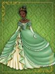 Queen Tiana- Disney Queen designer collection
