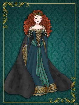 Queen Merida - Disney Queen designer collection