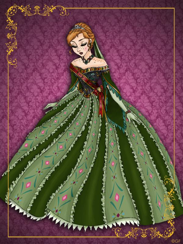 Queen Anna - Disney Queen designer collection by GFantasy92