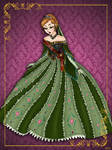 Queen Anna - Disney Queen designer collection