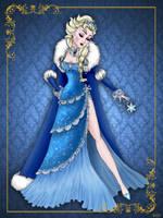 Queen Elsa- Disney Queen designer collection by GFantasy92