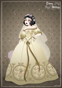 SnowWhite - Disney Wedding Princess designer