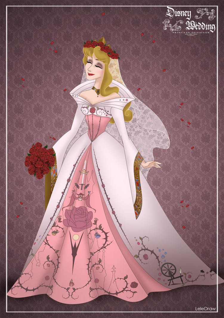 Aurora Disney Wedding Princess Designer By Gfantasy92 On