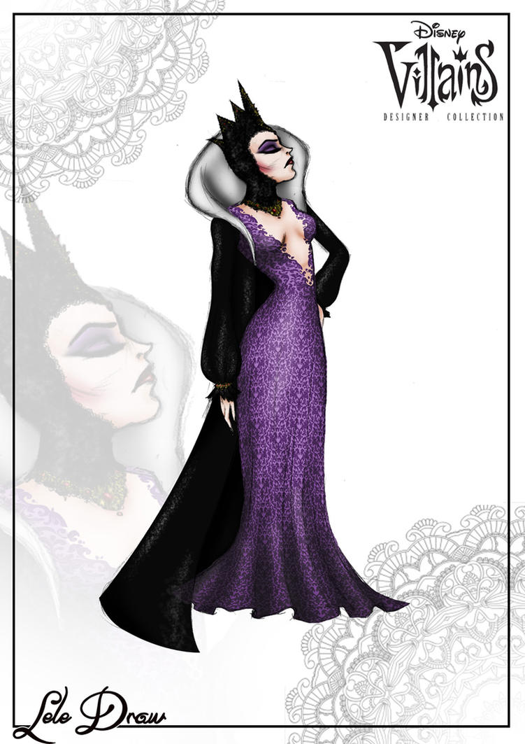 1 - Grimilde The Evil Queen  - Lele Draw by GFantasy92