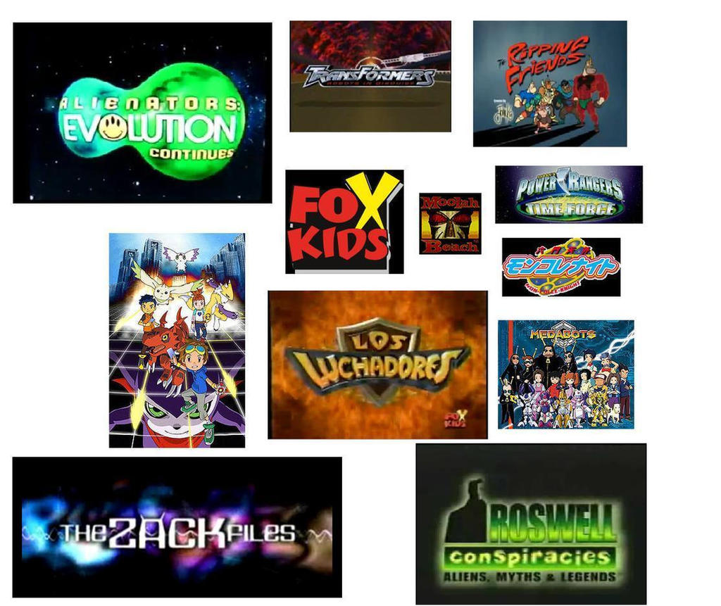 Fox kids 2001 by clamanathaeioup on deviantart for Craft shows on tv