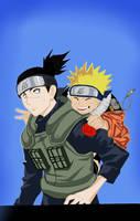Naruto and iruka by nestafari