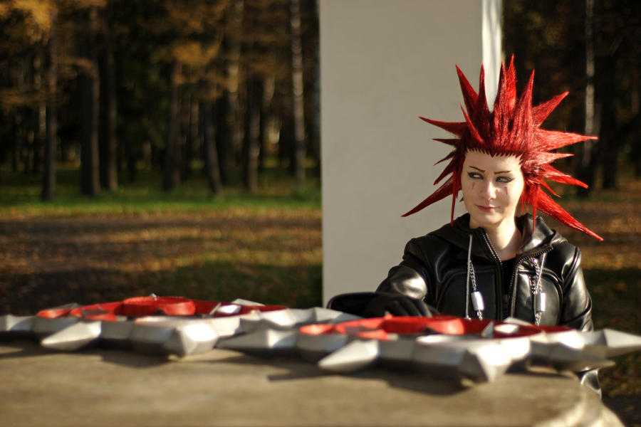 Axel Kingdom Hearts cosplay by 696Axel696